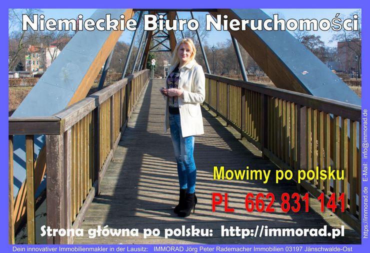 Niemieckie Biuro Nieruchomości, mowimy po polsku Strona główna po polsku: http://immorad.pl #Gubin #Nysa #Polska #Cottbus #Brandenburg #Lausitz #360