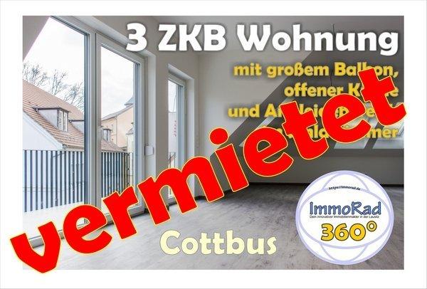 Cottbus 3 ZKB Wohnung Nr.1