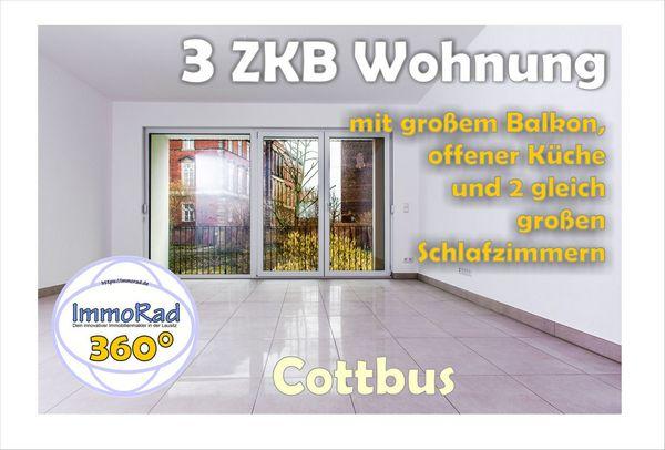 Cottbus 3ZKB Wohnung