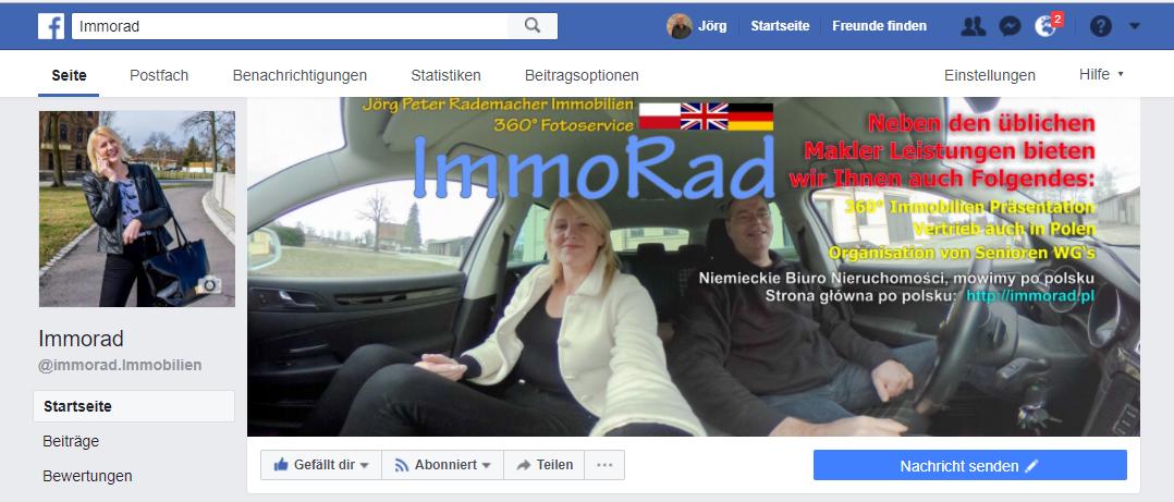 Facebook7Immorad Immobilien bei
