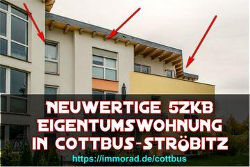exklusive 5ZKB Eigentumswohnung in Passivhaus in Cottbus Ströbitz