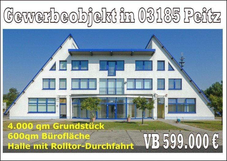 Gewerbeobjekt in 03185 Peitz zu verkaufen