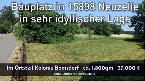 Verkauf Bauplatz Grundstück in Neuzelle