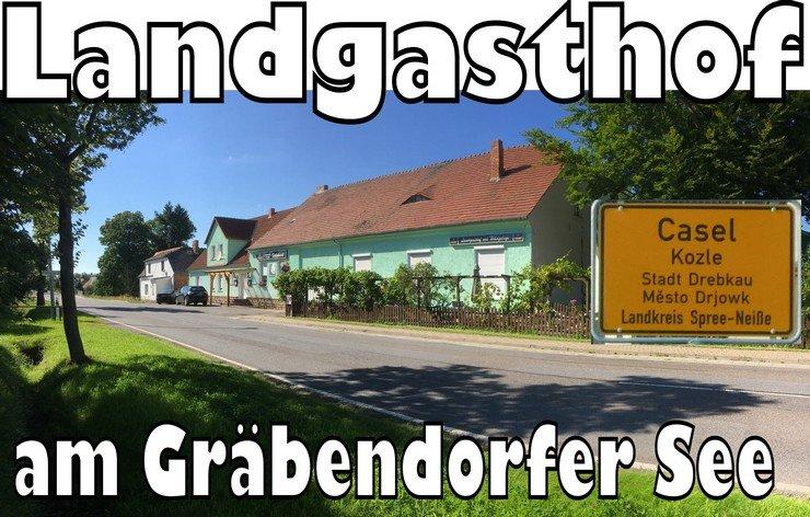 Landgasthof Schönknecht in Casel Drebkau zu verkaufen am Gräbendorfer See