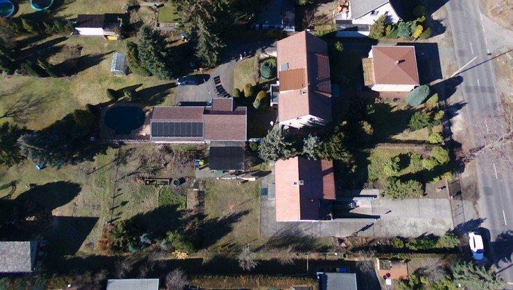 Immobilien Luftaufnahmen mit Drohne, Foto und Video Cottbus Lausitz Brandenburg Forst Guben
