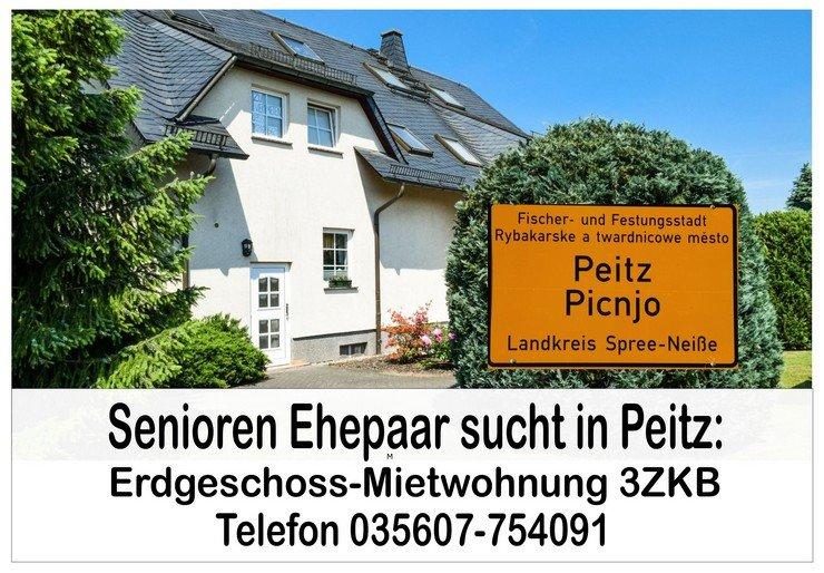 Senioren Ehepaar sucht ebenerdige Mietwohnung 3 ZKB in 03185 Peitz