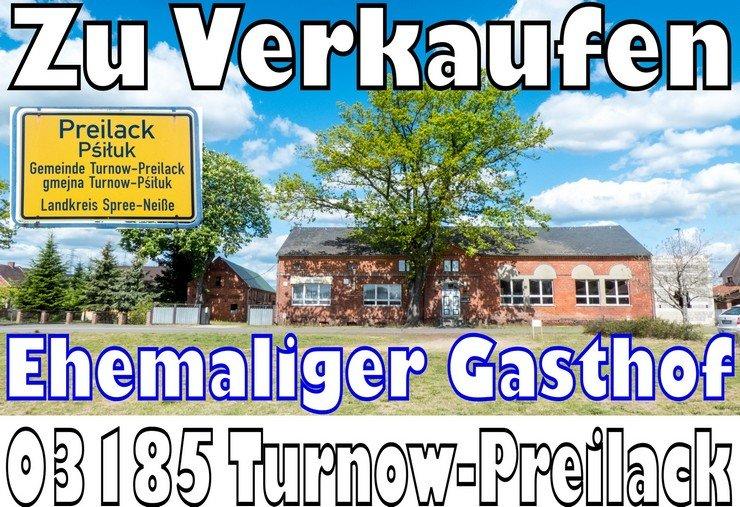03185 Turnow Preilack ehemaliger Gasthof zu verkaufen 300qm Wohnfläche