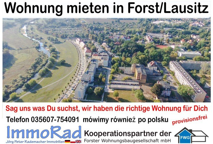 Wohnung mieten in Forst Lausitz provisionsfrei