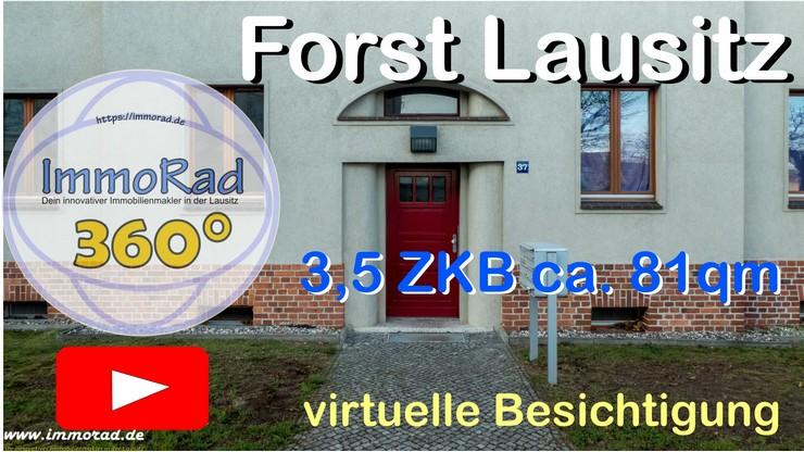 Forst Lausitz 3,5 ZKB Wohnung zu vermieten