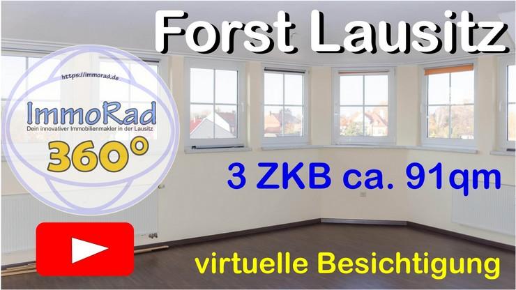 Virtuelle Besichtigung §ZKB 91qm in Forst Lausitz