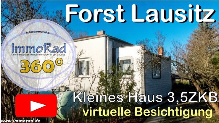 Virtuelle Besichtigung Einfamilienhaus Forst Lausitz