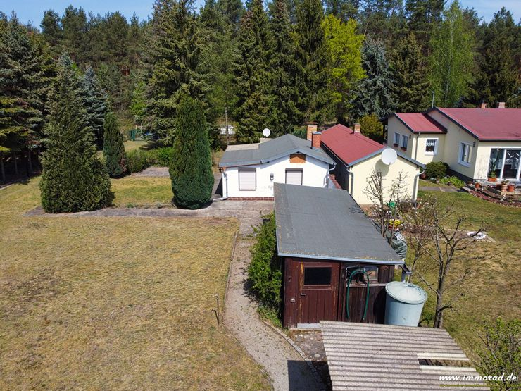 Attraktives Baugrundstück mit Wochenendhaus in 03159 Döbern