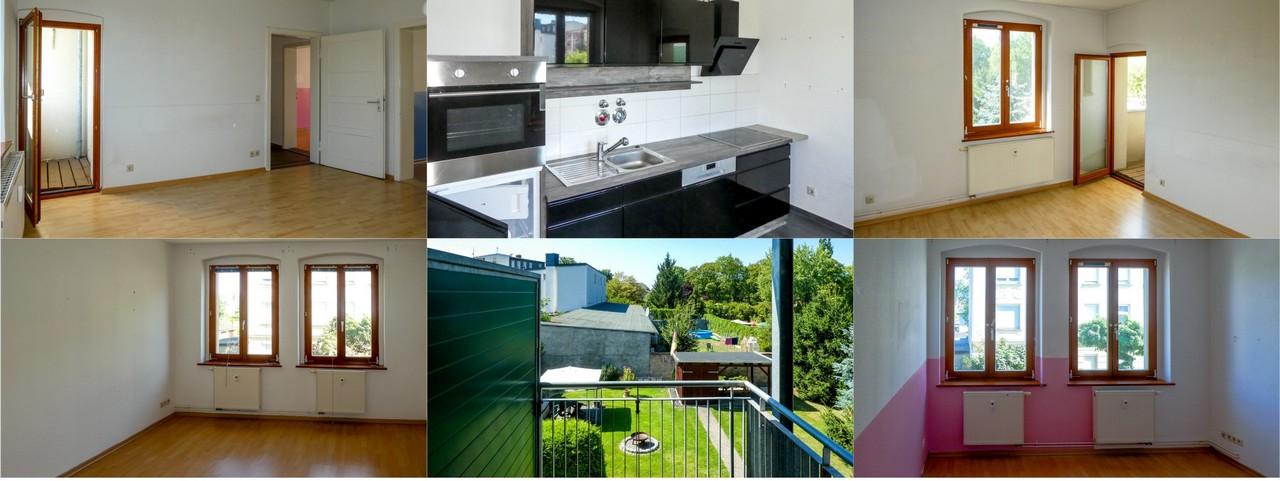 3,5ZKB mit EBK und 2 Balkonen in Forst Lausitz